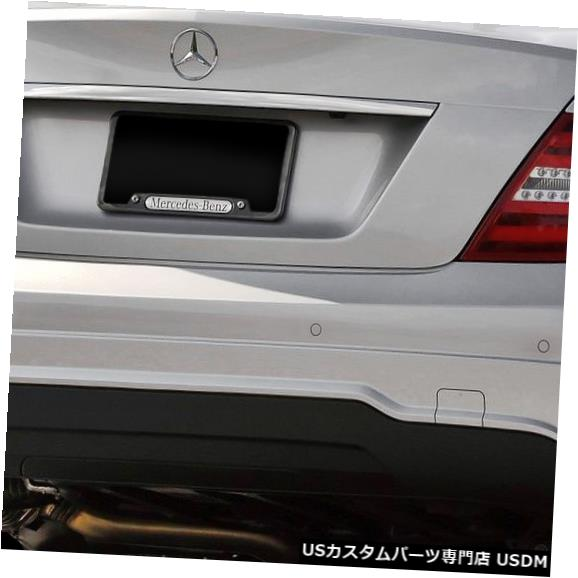 Rear Body Kit Bumper 08-14メルセデスC250 w / PDC C63 V2 Look Vaeroリアボディキットバンパー!!! 112041 08-14 Mercedes C250 w/ PDC C63 V2 Look Vaero Rear Body Kit Bumper!!! 112041