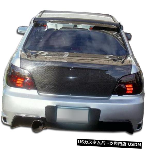 Rear Body Kit Bumper 04-07スバルインプレッサ4DR I-Spec Duraflexリアボディキットバンパー!!! 103310 04-07 Subaru Impreza 4DR I-Spec Duraflex Rear Body Kit Bumper!!! 103310