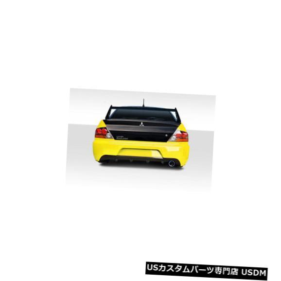 Rear Body Kit Bumper 03-06三菱ランサーVTCデュラフレックスリアボディキットバンパー!!! 114929 03-06 Mitsubishi Lancer VTC Duraflex Rear Body Kit Bumper!!! 114929