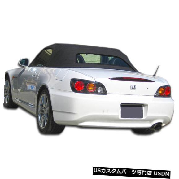 Rear Body Kit Bumper 00-09ホンダS2000 AP2 Duraflexリアボディキットバンパー!!! 105929 00-09 Honda S2000 AP2 Duraflex Rear Body Kit Bumper!!! 105929