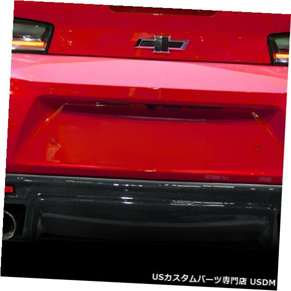 Rear Body Kit Bumper 16-18シボレーカマロGM-Xカーボンファイバーリアバンパーリップボディキット!!! 113051 16-18 Chevrolet Camaro GM-X Carbon Fiber Rear Bumper Lip Body Kit!!! 113051