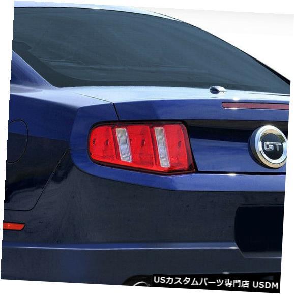 Rear Body Kit Bumper 10-12フォードマスタングサーキットDuraflexリアボディキットバンパー!!! 105859 10-12 Ford Mustang Circuit Duraflex Rear Body Kit Bumper!!! 105859