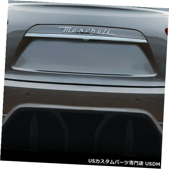 Rear Body Kit Bumper 14-18マセラティジブリAzure Duraflexリアバンパーリップボディキット!!! 113965 14-18 Maserati Ghibli Azure Duraflex Rear Bumper Lip Body Kit!!! 113965
