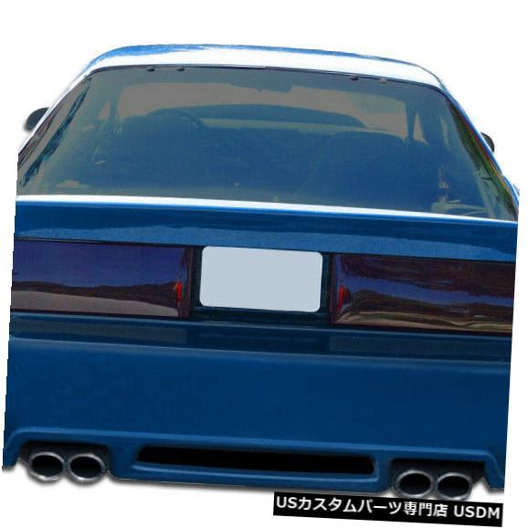 Rear Body Kit Bumper 82-92シボレーカマロエクストリームデュラフレックスリアボディキットバンパー!!! 106778 82-92 Chevrolet Camaro Xtreme Duraflex Rear Body Kit Bumper!!! 106778