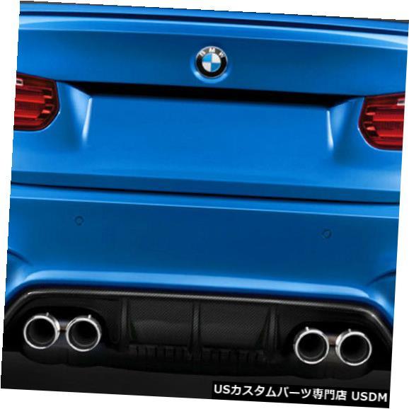 Rear Body Kit Bumper 12-18 BMW 3シリーズM3 Look DriTechカーボンファイバーリアバンパーリップボディキット! 113170 12-18 BMW 3 Series M3 Look DriTech Carbon Fiber Rear Bumper Lip Body Kit! 113170