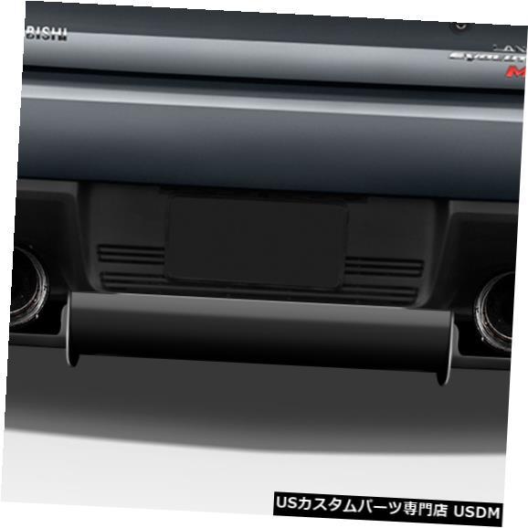 Rear Body Kit Bumper 08-15 Mitsubishi Evolution VR-S Duraflexリアバンパーリップボディキット!!! 113560 08-15 Mitsubishi Evolution VR-S Duraflex Rear Bumper Lip Body Kit!!! 113560