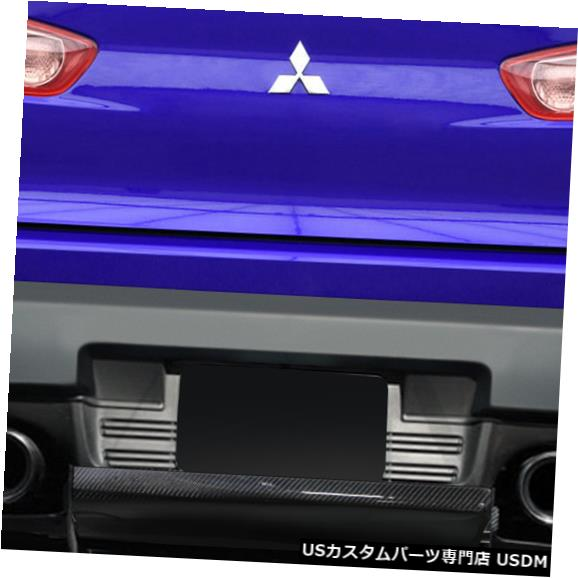 Rear Body Kit Bumper 08-15 Mitsubishi Evolution VR-S Carbon Creationsリアバンパーリップボディキット113561 08-15 Mitsubishi Evolution VR-S Carbon Creations Rear Bumper Lip Body Kit 113561