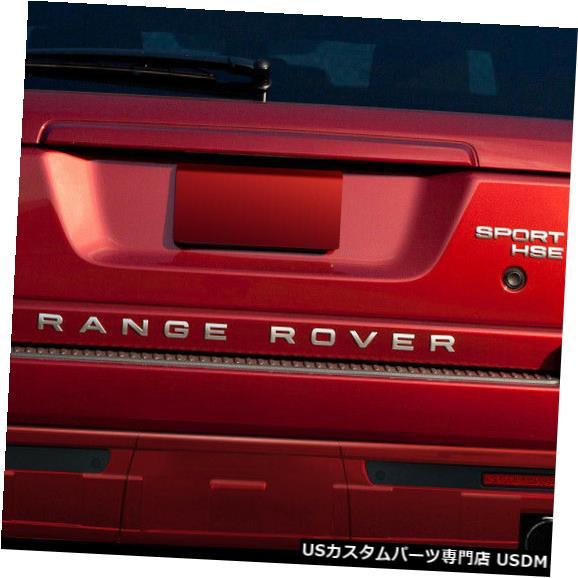 Rear Body Kit Bumper 10-13ランド/レンジローバースポーツエロスV.1デュラフレックスリアバンパーリップ(サイド)!!! 108993 10-13 Land/Range Rover Sport Eros V.1 Duraflex Rear Bumper Lip (Side)!!! 108993