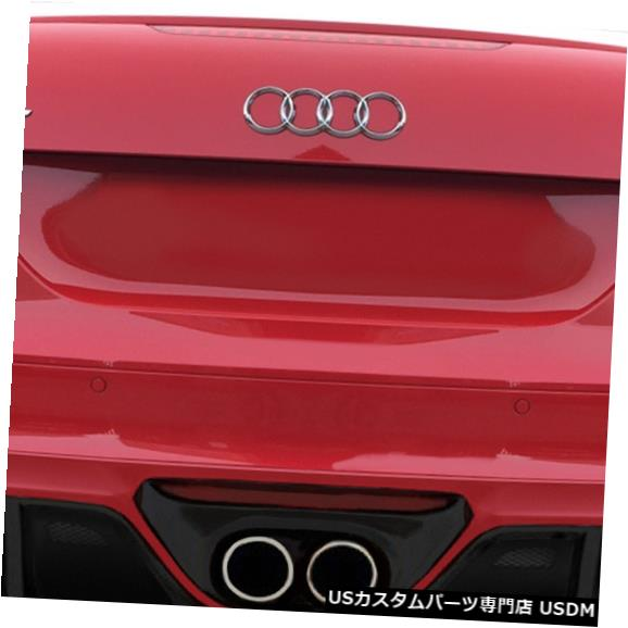 Rear Body Kit Bumper 08-15 Audi TT TKR Duraflexリアバンパーリップボディキット!!! 113525 08-15 Audi TT TKR Duraflex Rear Bumper Lip Body Kit!!! 113525