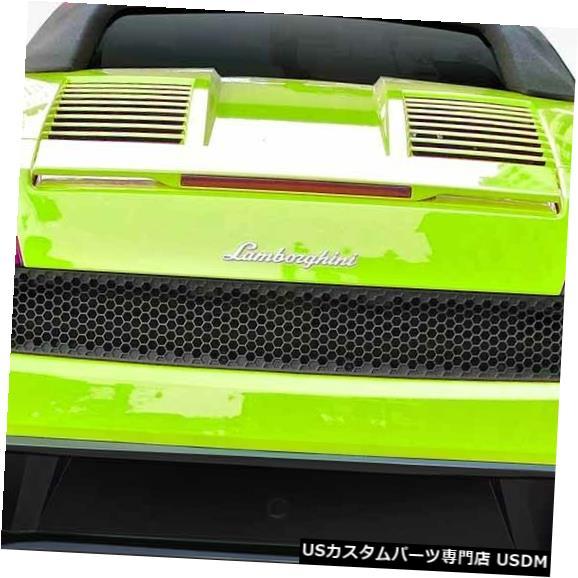 Rear Body Kit Bumper 09-13ランボルギーニガヤルドLP570デュラフレックスリアバンパーディフューザーボディキット!! 114814 09-13 Lamborghini Gallardo LP570 Duraflex Rear Bumper Diffuser Body Kit!! 114814