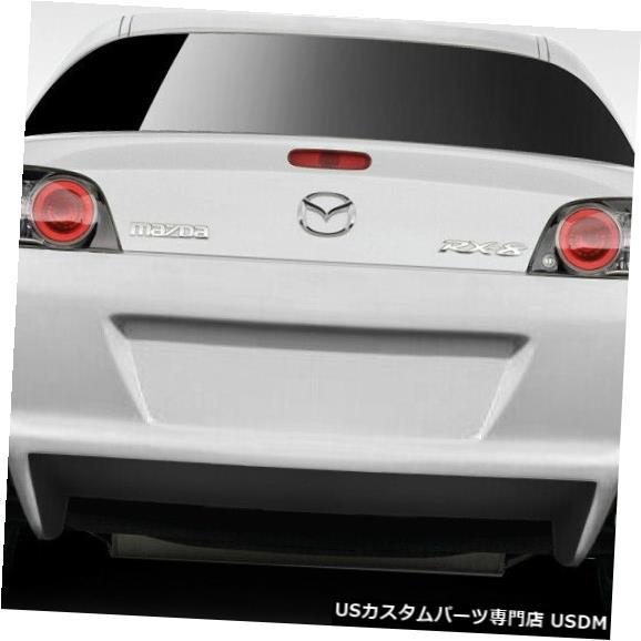 Rear Body Kit Bumper 09-11マツダRX8 Orion Duraflexリアボディキットバンパー!!! 109466 09-11 Mazda RX8 Orion Duraflex Rear Body Kit Bumper!!! 109466