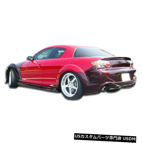 Rear Body Kit Bumper 04-11マツダRX8 GTコンペティションDuraflexリアボディキットバンパー!!! 100580 04-11 Mazda RX8 GT Competition Duraflex Rear Body Kit Bumper!!! 100580