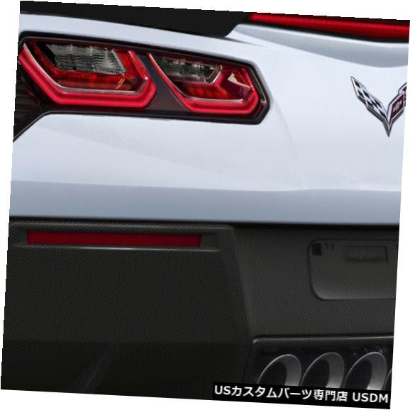 Rear Body Kit Bumper 14-18コルベットGTコンセプトDriTechカーボンファイバーリアバンパーリップボディキット!! 113180 14-18 Corvette GT Concept DriTech Carbon Fiber Rear Bumper Lip Body Kit!! 113180