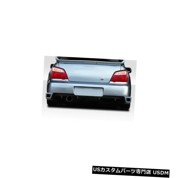 Rear Body Kit Bumper 04-07スバルインプレッサM-1デュラフレックスリアボディキットバンパー!!! 114824 04-07 Subaru Impreza M-1 Duraflex Rear Body Kit Bumper!!! 114824