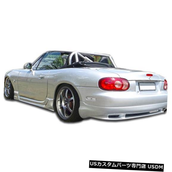 Rear Body Kit Bumper 98-05マツダミアータウィズダムデュラフレックスリアバンパーリップボディキット!!! 105962 98-05 Mazda Miata Wizdom Duraflex Rear Bumper Lip Body Kit!!! 105962
