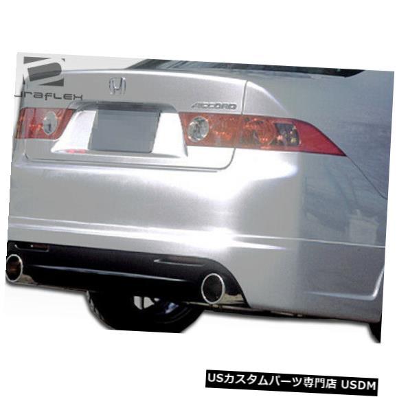 Rear Body Kit Bumper 04-05アキュラTSX K-1デュラフレックスリアバンパーリップボディキット!!! 100542 04-05 Acura TSX K-1 Duraflex Rear Bumper Lip Body Kit!!! 100542