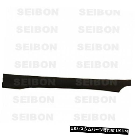 Rear Body Kit Bumper 02-04アキュラRSX TRセイボンカーボンファイバーリアバンパーリップボディキット!! RL0204ACRSX-TR 02-04 Acura RSX TR Seibon Carbon Fiber Rear Bumper Lip Body Kit!! RL0204ACRSX-TR