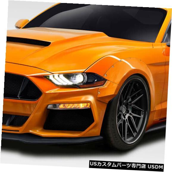Full Body Kit 18-19フォードマスタンググリッドDuraflexフル15ピースボディキット!!! 115124 18-19 Ford Mustang Grid Duraflex Full 15pcs Body Kit!!! 115124