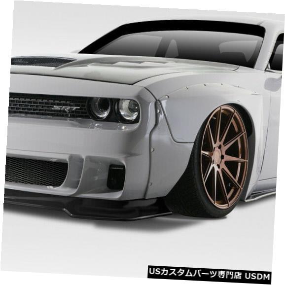 Full Body Kit 15-18ダッジチャレンジャーサーキットDuraflex 15pcsフルボディキット!!! 113912 15-18 Dodge Challenger Circuit Duraflex 15pcs Full Body Kit!!! 113912