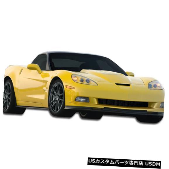 Full Body Kit 05-13シボレーコルベットZRエディションデュラフレックス9ピースフルワイドボディキット!!! 105781 05-13 Chevrolet Corvette ZR Edition Duraflex 9 Pcs Full Wide Body Kit!!! 105781