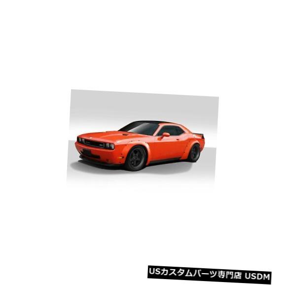 Full Body Kit 08-18ダッジチャレンジャーノバラデュラフレックスフルボディキット!!! 113233 08-18 Dodge Challenger Novara Duraflex Full Body Kit!!! 113233
