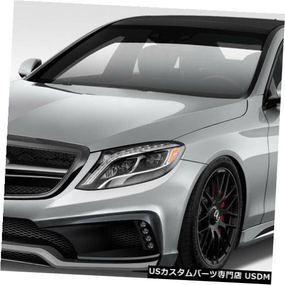 Full Body Kit 14-17メルセデスSクラスW-1 Duraflex 4ピースフルボディキット!!! 114087 14-17 Mercedes S Class W-1 Duraflex 4pcs Full Body Kit!!! 114087