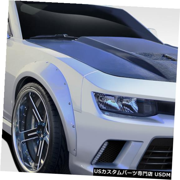 Full Body Kit 14-15シボレーカマロGTコンセプトデュラフレックス8個フル50MMワイドボディキット! 109953 14-15 Chevrolet Camaro GT Concept Duraflex 8 Pcs Full 50MM Wide Body Kit! 109953
