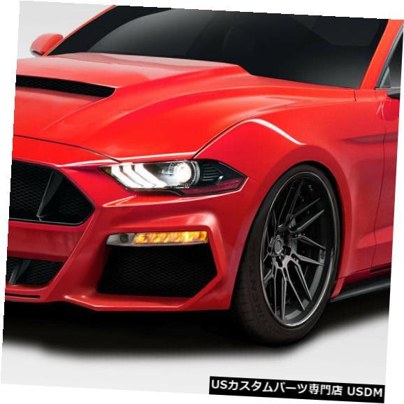 Full Body Kit 18-19フォードマスタンググリッドDuraflexフル4ピースボディキット!!! 115122 18-19 Ford Mustang Grid Duraflex Full 4pcs Body Kit!!! 115122