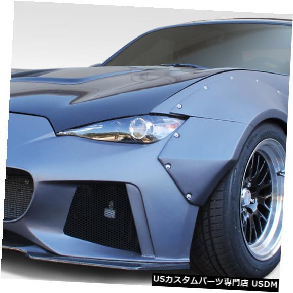Full Body Kit 16-18マツダミアータサーキットデュラフレックス9個フルボディキット!!! 113308 16-18 Mazda Miata Circuit Duraflex 9 Pcs Full Body Kit!!! 113308