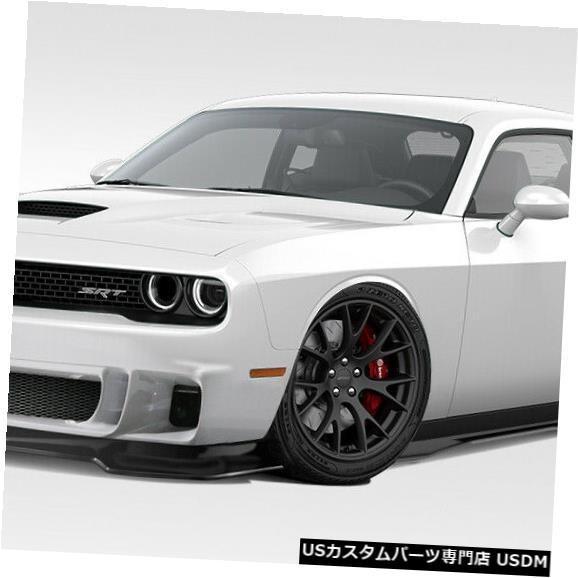 Full Body Kit 15-18ダッジチャレンジャーサーキットDuraflex 7ピースフルボディキット!!! 114173 15-18 Dodge Challenger Circuit Duraflex 7pcs Full Body Kit!!! 114173