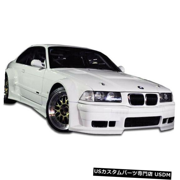 Full Body Kit 92-98 BMW 3シリーズ2DR GT500 Duraflex 8 PCフルワイドボディキット!!! 105468 92-98 BMW 3 Series 2DR GT500 Duraflex 8 Pcs Full Wide Body Kit!!! 105468