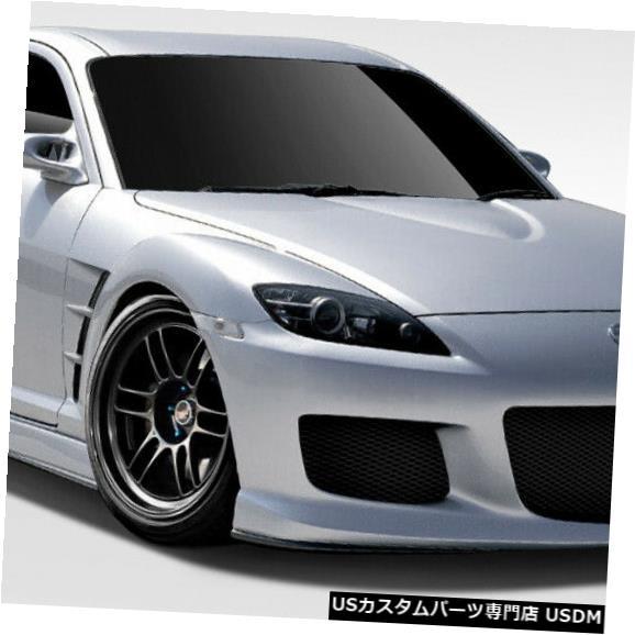 Full Body Kit 04-08マツダRX8 M-1スピードデュラフレックス7ピースフルボディキット!!! 109943 04-08 Mazda RX8 M-1 Speed Duraflex 7 Pcs Full Body Kit!!! 109943