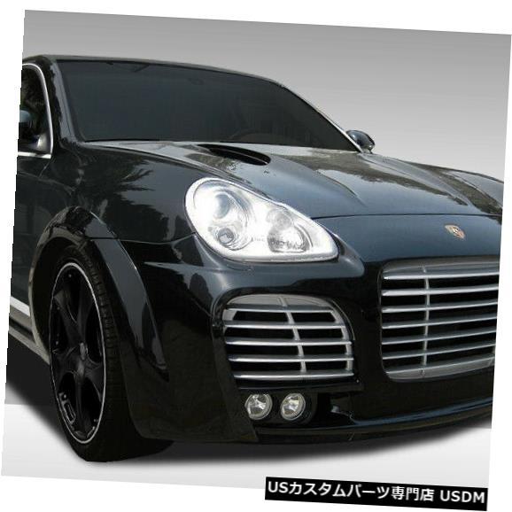 Full Body Kit 03-06ポルシェカイエンエロスバージョン1デュラフレックス11ピースフルボディキット!!! 108306 03-06 Porsche Cayenne Eros Version 1 Duraflex 11 Pcs Full Body Kit!!! 108306