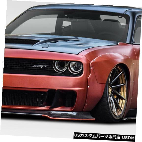 Full Body Kit 08-18ダッジチャレンジャーサーキットDuraflex 8pcsフルボディキット!!! 113913 08-18 Dodge Challenger Circuit Duraflex 8pcs Full Body Kit!!! 113913