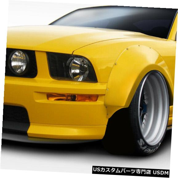 Full Body Kit 05-09フォードマスタングサーキットDuraflexフルボディキット!!! 112888 05-09 Ford Mustang Circuit Duraflex Full Body Kit!!! 112888