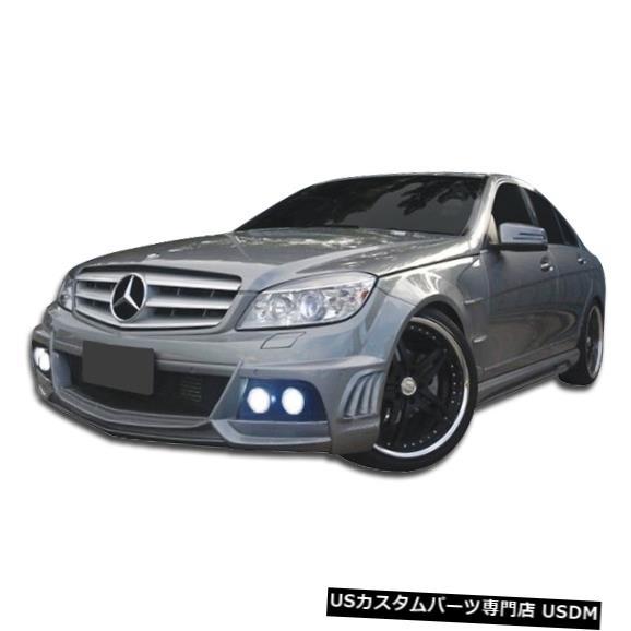 Full Body Kit 08-11メルセデスCクラス4DR W-1デュラフレックスフルボディキット!!! 106108 08-11 Mercedes C Class 4DR W-1 Duraflex Full Body Kit!!! 106108