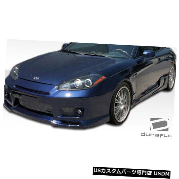 Full Body Kit 07-08 Hyundai Tiburon Spec-R Duraflexフルボディキットに適合!!! 106004 07-08 Fits Hyundai Tiburon Spec-R Duraflex Full Body Kit!!! 106004