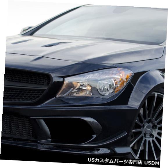 Full Body Kit 14-15メルセデスCLAブラックシリーズルックDuraflex 16個フルワイドボディキット112211 14-15 Mercedes CLA Black Series Look Duraflex 16 Pcs Full Wide Body Kit 112211
