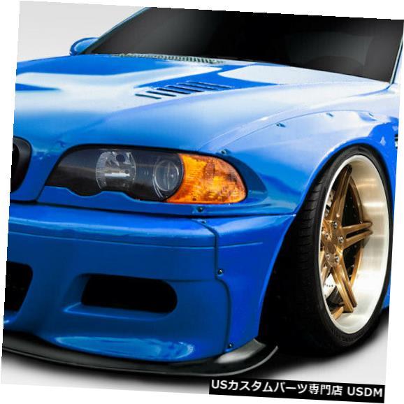 Full Body Kit 01-06 BMW M3サーキットDuraflex 6個フルボディキット!!! 113620 01-06 BMW M3 Circuit Duraflex 6 Pcs Full Body Kit!!! 113620