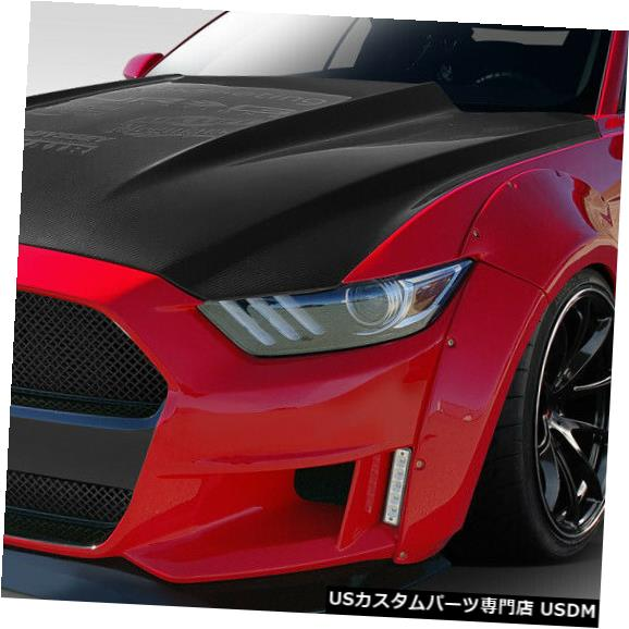 Full Body Kit 15-17フォードマスタンググリッドDuraflex 17ピースフルワイドボディキット!!! 112570 15-17 Ford Mustang Grid Duraflex 17 Pcs Full Wide Body Kit!!! 112570