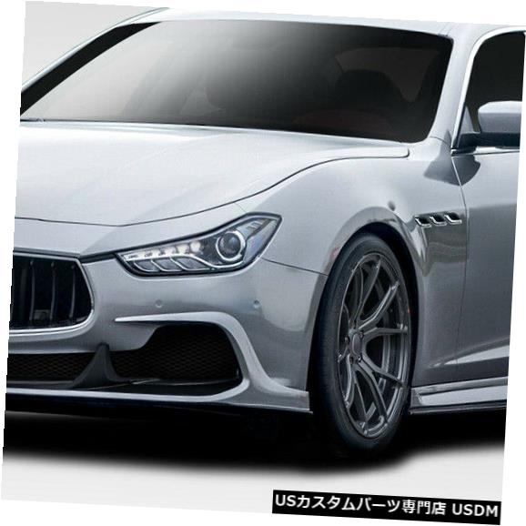 Full Body Kit 14-17マセラティジブリAzure Duraflexフルボディキット!!! 114076 14-17 Maserati Ghibli Azure Duraflex Full Body Kit!!! 114076
