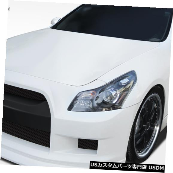 Full Body Kit 07-09 Infiniti G Sedan GT-R Duraflexフルボディキットに適合!!! 108231 07-09 Fits Infiniti G Sedan GT-R Duraflex Full Body Kit!!! 108231