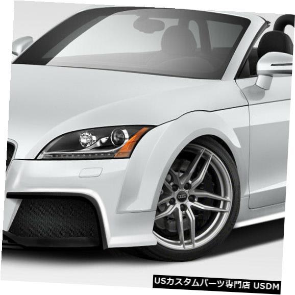 Full Body Kit 06-14アウディTTレギュレーターデュラフレックスフルボディキット!!! 113828 06-14 Audi TT Regulator Duraflex Full Body Kit!!! 113828