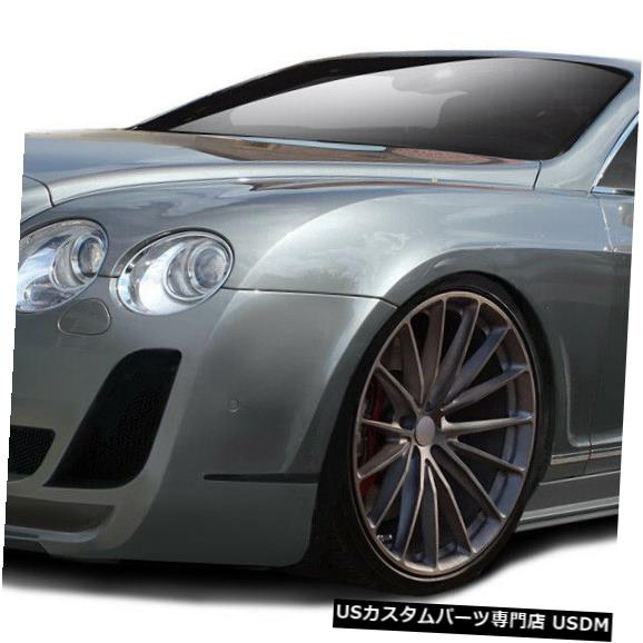 Full Body Kit 03-10 Bentley Continental AF-2 Aero機能フルボディキット!!! 113192 03-10 Bentley Continental AF-2 Aero Function Full Body Kit!!! 113192