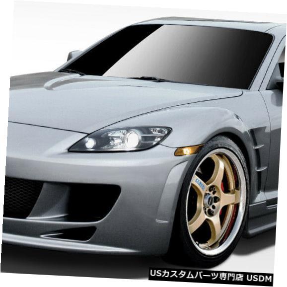 Full Body Kit 04-08マツダRX8 Xスポーツデュラフレックスフルボディキット!!! 109497 04-08 Mazda RX8 X-Sport Duraflex Full Body Kit!!! 109497