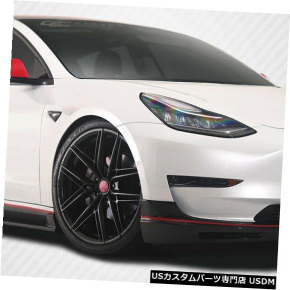 Full Body Kit 18-20テスラモデル3 GTコンセプトカーボンファイバークリエーションズフルボディキット!!! 115474 18-20 Tesla Model 3 GT Concept Carbon Fiber Creations Full Body Kit!!! 115474