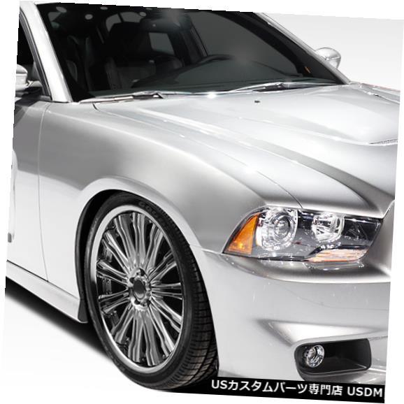 Full Body Kit 11-14ダッジチャージャーSRTルックDuraflex 6個フルボディキット!!! 108070 11-14 Dodge Charger SRT Look Duraflex 6 Pcs Full Body Kit!!! 108070