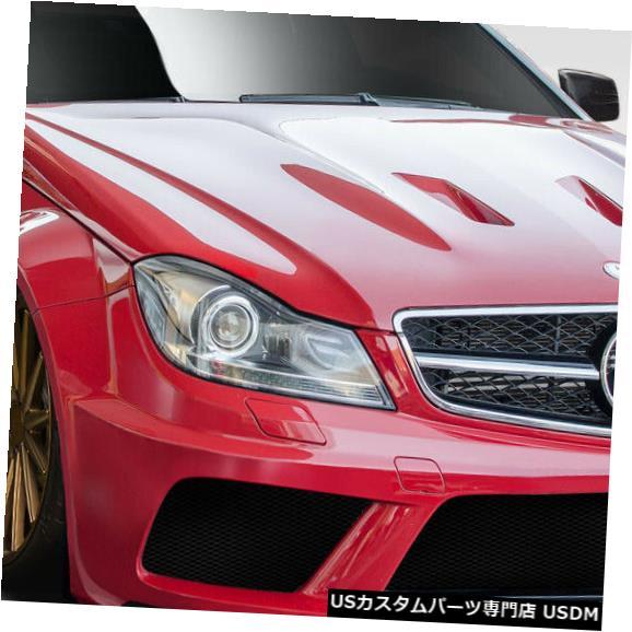 Full Body Kit 12-14メルセデスC63ブラックシリーズルックDuraflex 13ピースフルボディキット!!! 114083 12-14 Mercedes C63 Black Series Look Duraflex 13pcs Full Body Kit!!! 114083