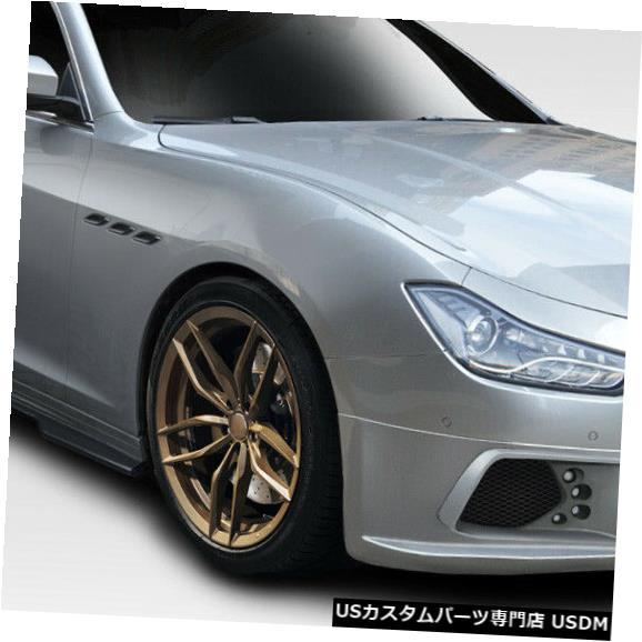Full Body Kit 14-18マセラティジブリW-1 Duraflex 5ピースフルボディキット!!! 114075 14-18 Maserati Ghibli W-1 Duraflex 5pcs Full Body Kit!!! 114075
