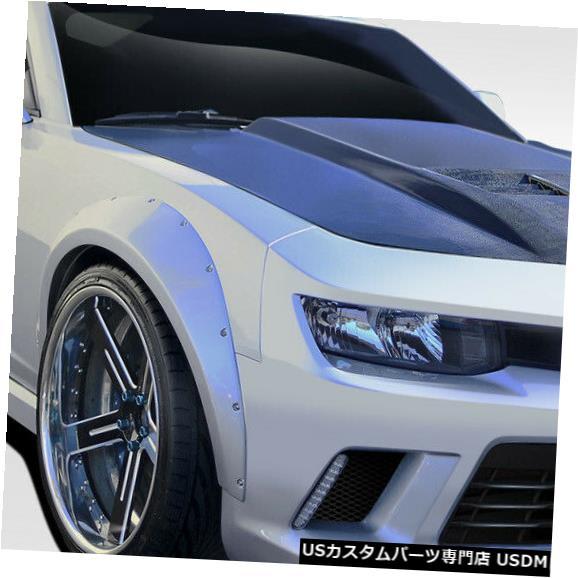 Full Body Kit 10-15シボレーカマロGTコンセプトデュラフレックスフルワイドボディキット!!! 109952 10-15 Chevrolet Camaro GT Concept Duraflex Full Wide Body Kit!!! 109952